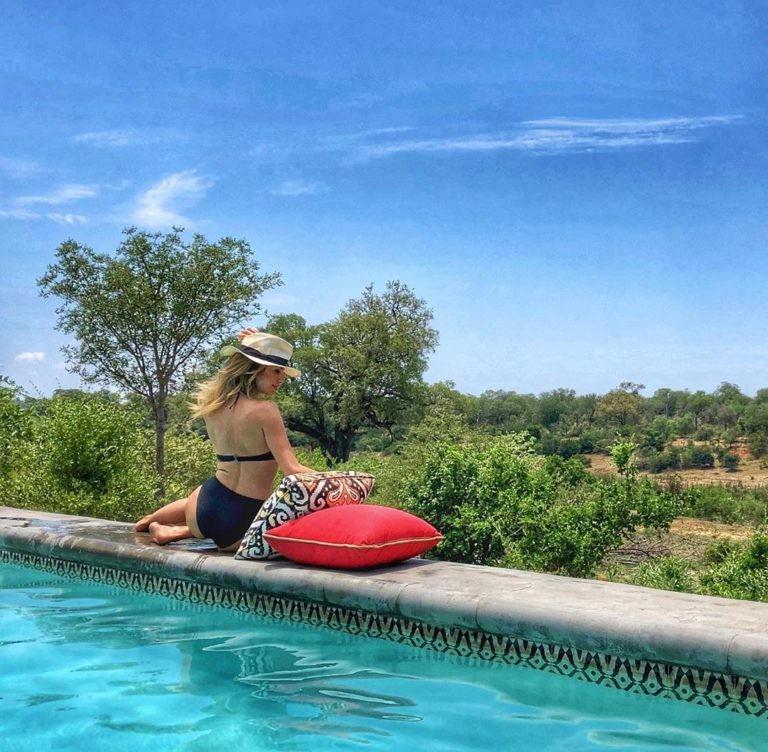 Νάνσυ Αλεξιάδου διακοπές στην Νότια Αφρική