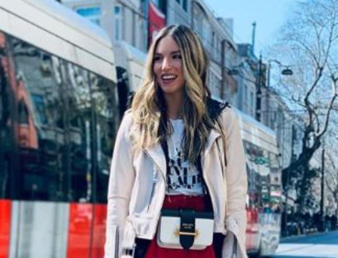 Αθηνά Οικονομάκου: Η παντελόνα στο κόκκινο της φωτιάς είναι το must have κομμάτι για την Άνοιξη 2019!