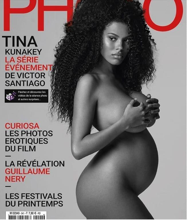Η21χρονη Τίνα Κουνακέϊ φωτογραφίζεται ολόγυμνη για το εξώφυλλο περιοδικού!