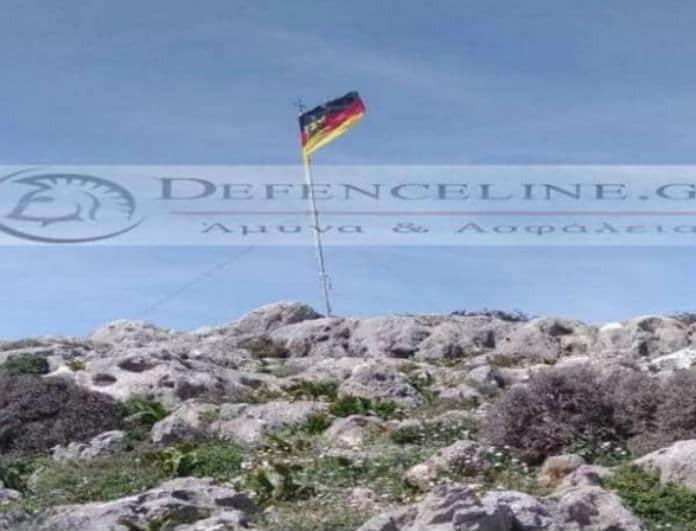 Απαράδεκτο περιστατικό στην Κρήτη! Γερμανοί αξιωματικοί κατέβασαν την ελληνική σημαία!