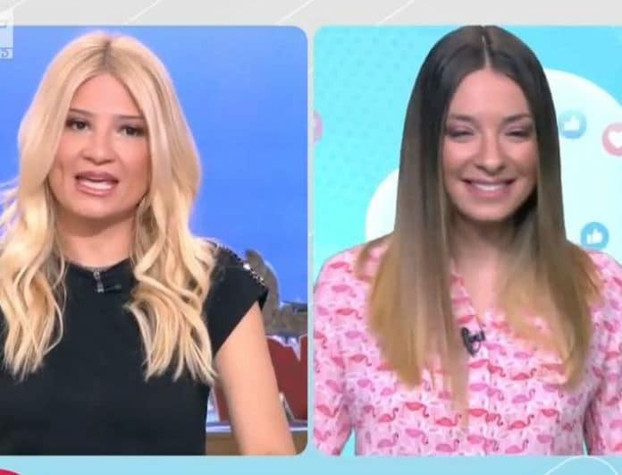 Φαίη Σκορδά: Με τον Δημητράκη στο πλατό του Πρωινού! Ο επικός διάλογος on air!
