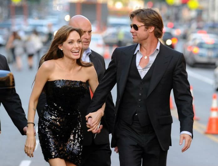 Η Angelina Jolie και ο Brad Pitt