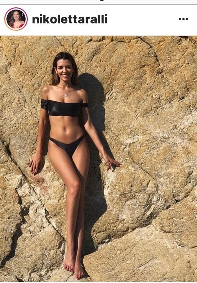 Nικολέττα Ράλλη: Φόρεσε το μαγιό της και έφερε το καλοκαίρι!