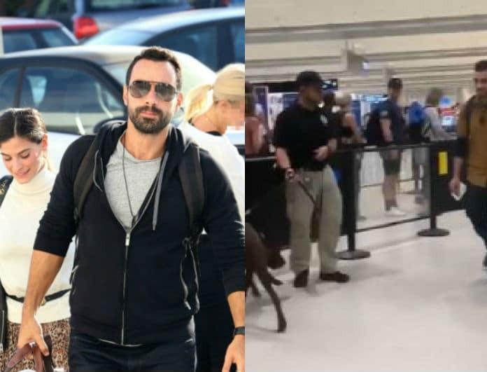 Σάκης Τανιμανίδης: Περιπέτεια με ναρκωτικά στο αεροδρόμιο! Τι συνέβη;