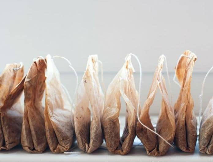 Χρησιμοποιημένα φακελάκια τσαγιού; Δείτε τι μπορείτε να κάνετε με αυτά!