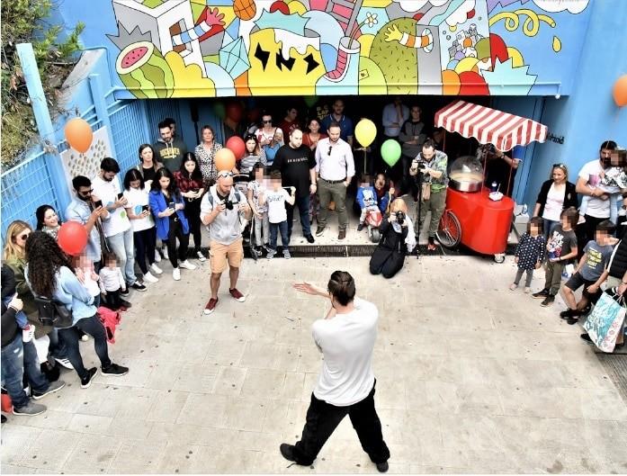Ο ΟΠΑΠ βάζει χρώμα και παιχνίδι στη ζωή των Αθηναίων με την πρώτη διαδραστική διάβαση