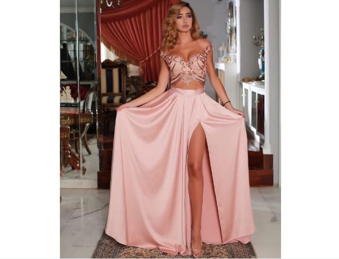 Οι δημιουργίες της fashion designer Λουκίας Κυριακού στην διάσημη boutique στο Λίβανο