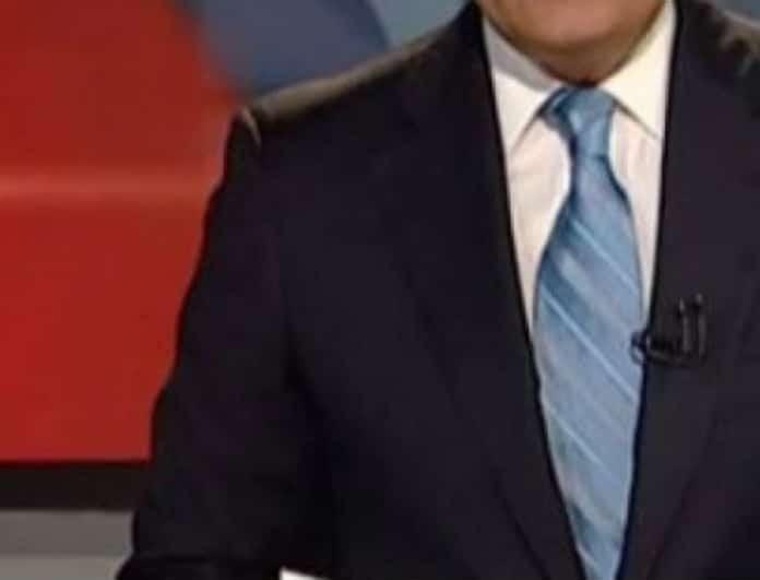 Αποκλειστικό: Εκτός δελτίου ειδήσεων κορυφαίος παρουσιαστής! Τον