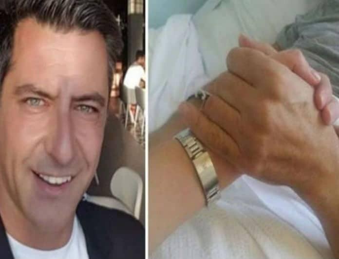 Κωνσταντίνος Αγγελίδης: Στο αναπηρικό καροτσάκι αγκαλιά με τον γιο του! Οι φωτογραφίες μέσα από το κέντρο αποκατάστασης!