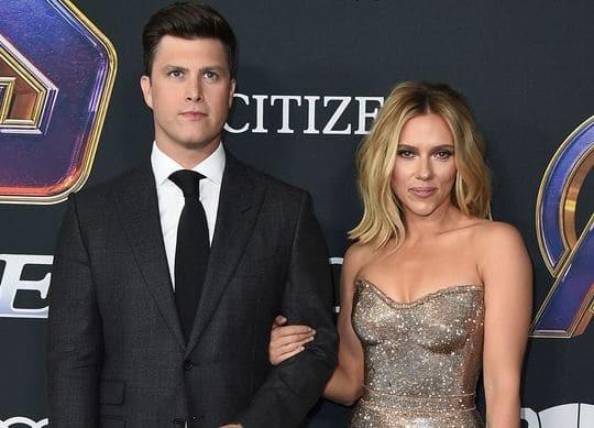 Η Scarlett Johansson και ο Colin Jost