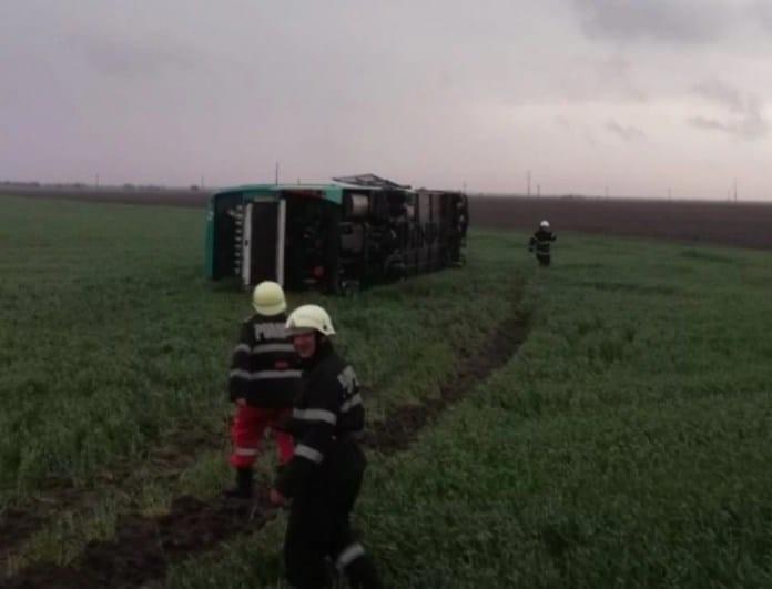 Βίντεο-σοκ: Ανεμοστρόβιλος σηκώνει στον αέρα λεωφορείο!