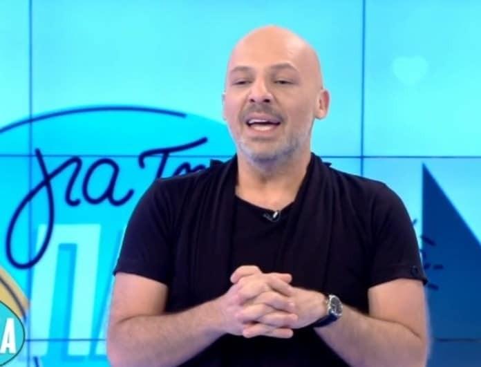 Νίκος Μουτσινάς: Τελειώνει η εκπομπή του! Έκανε την αποκάλυψη! (Βίντεο)