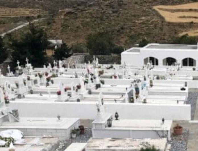 Μακάβριες σκηνές: Σε αυτό το ελληνικό νεκροταφείο δεν λιώνουν οι νεκροί!