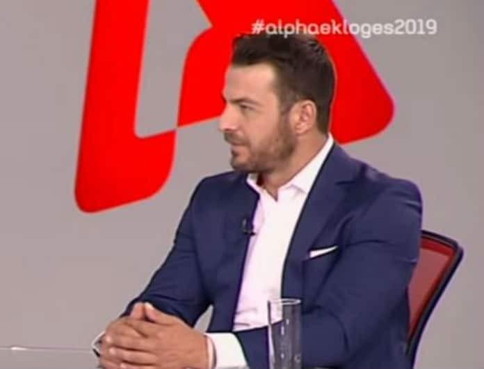 Γιώργος Αγγελόπουλος: Ο Ντάνος βρίσκεται παντού! Ακόμα και στο πάνελ του Alpha tv! (Βίντεο)