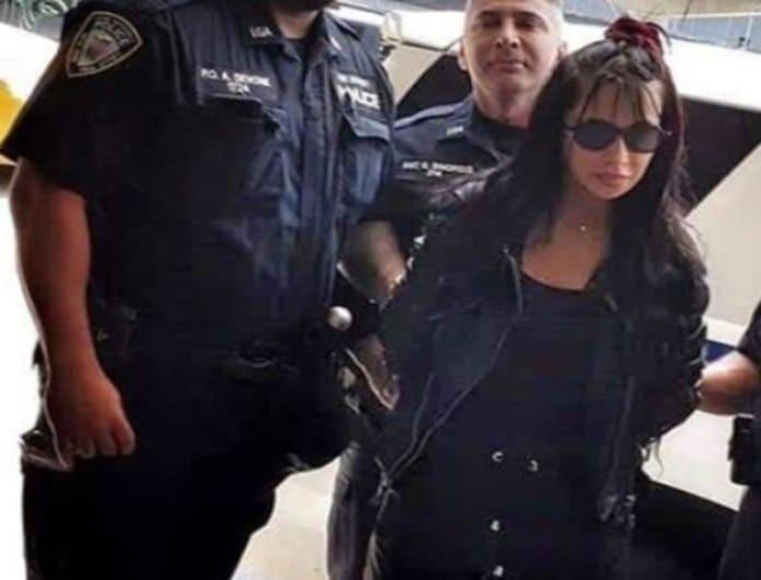 Στα χέρια της Αστυνομίας η Πάολα! Καρέ-καρέ η σύλληψή της! Της πέρασαν χειροπέδες!