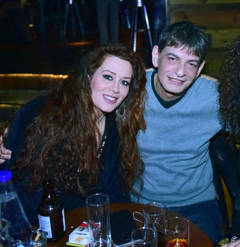 Ο Μιχάλης Ρακιντζής και η Κωνσταντίνα Στεφανοπούλου