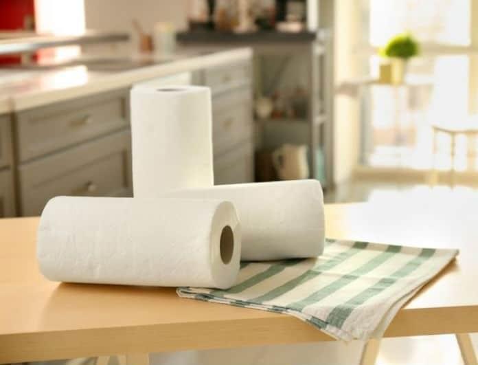 Με αυτό το κόλπο θα χρησιμοποιείτε λιγότερο χαρτί κουζίνας!