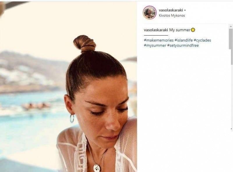 Βάσω Λασκαράκη: Τα σημάδια στο πρόσωπό της! Φωτογραφία που