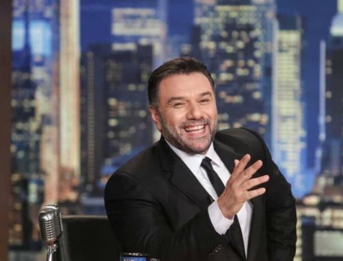 Γρηγόρης Αρναούτογλου: Τι τηλεθέαση έκανε με καλεσμένη την Λάουρα Νάργες;