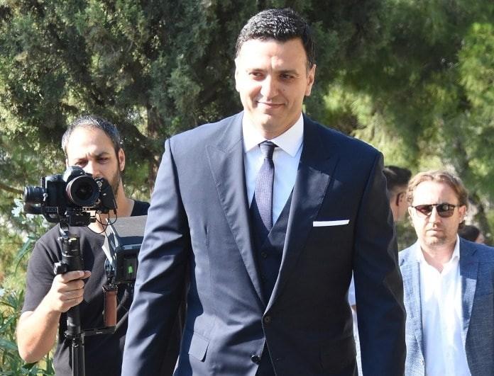 Γάμος Μπαλατσινού - Κικίλια: Το χαμόγελο του γαμπρού μόλις έφτασε στον Λυκαβηττό!