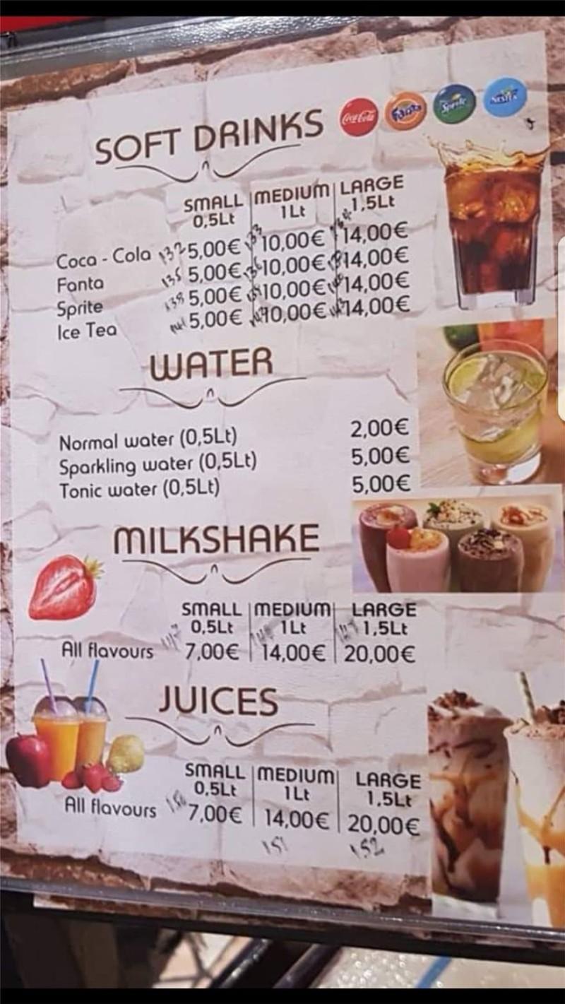 Ο ιδιοκτήτης του εστιατορίου στη Ρόδο με τα 82 ευρώ για 8 αναψυκτικά ξεσπάει! «Ελάτε να με...»