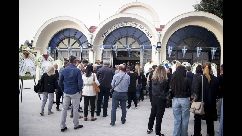 Γιώργος Ξενίδης: Ράγισαν καρδιές στην κηδεία του