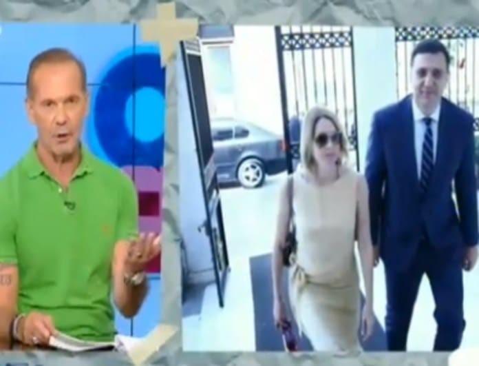 Γάμος Μπαλατσινού - Κικίλια: Η αμηχανία του Κωστόπουλου και το «καψόνι» στην εκπομπή του! (Βίντεο)