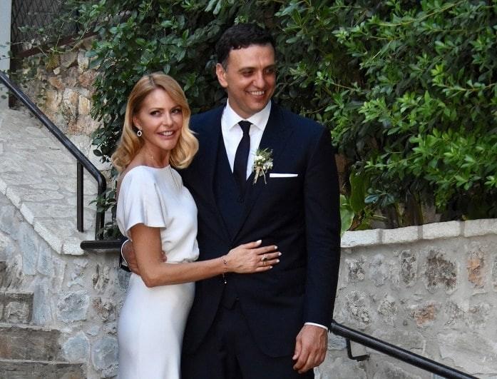 Γάμος Μπαλατσινού - Κικίλια: Οι  φωτογραφίες από την εκκλησία!