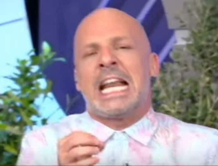 Χαμός στην εκπομπή του Νίκου Μουτσινά! «Θα σου κάνω μήνυση»! (Βίντεο)