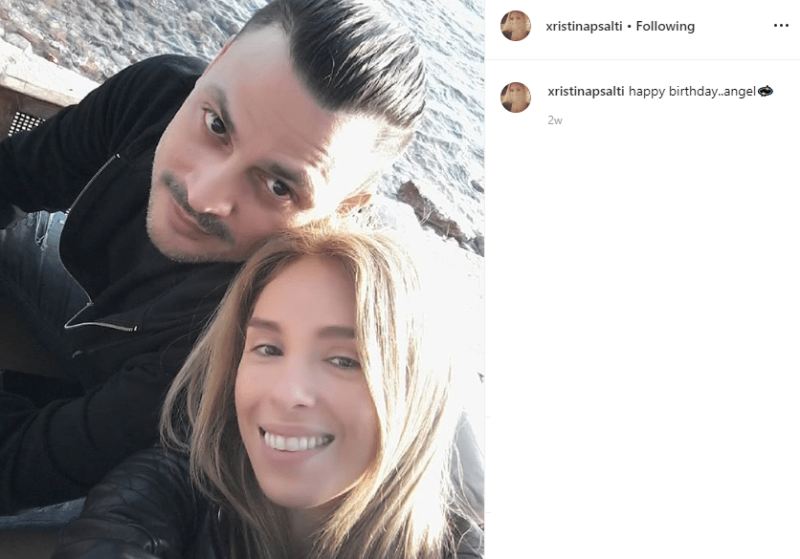 Χριστίνα Ψάλτη: Αγκαλιά με το νέο της σύντροφο δυο χρόνια μετά τον θάνατο του Στάθη...