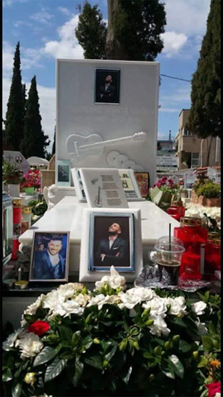 Παντελής Παντελίδης: Έτσι είναι σήμερα ο τάφος του τραγουδιστή!