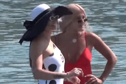 Ιωάννα Τούνη - Δήμητρα Αλεξανδράκη: Έβαλαν «φωτιά» στην Ψαρρού! (Βίντεο)