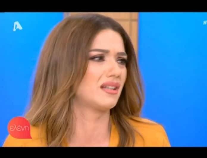 Βάσω Λασκαράκη: Βγήκε στην τηλεόραση και ξέσπασε σε κλάματα εξαιτίας του Σουλτάτου! (Βίντεο)