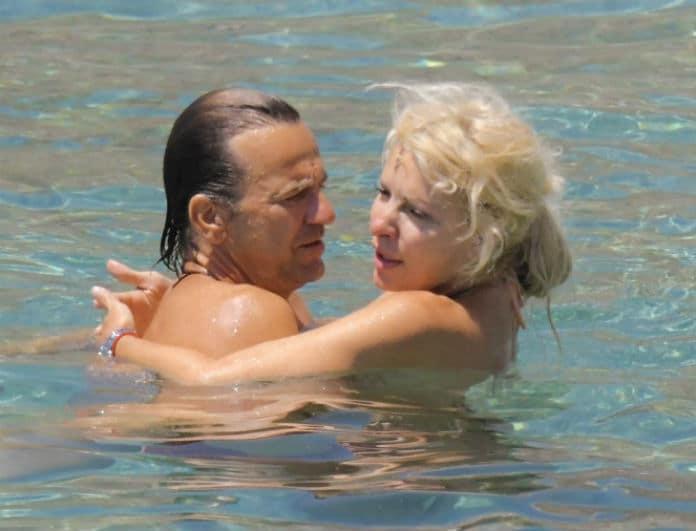 Ελένη Μενεγάκη - Ματέο Παντζόπουλος: Τα παθιασμένα φιλιά του ζευγαριού μπροστά σε όλη την παραλία! Ασυγκράτητοι...