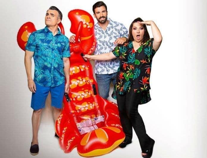 Κατερίνα Ζαρίφη - Παύλος Σταματόπουλος: Τι νούμερα έκανε στην τηλεθέαση το «Καλοκαίρι not»;