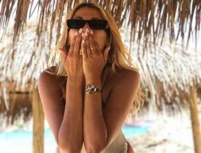 Κωνσταντίνα Σπυροπούλου: Δεν φαντάζεστε τι έχει φόντο στο κινητό της!