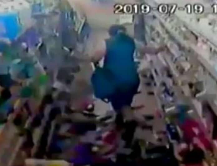 Σοκάρει το βίντεο ντοκουμέντο από την ώρα του σεισμού! Έγιναν όλα γυαλιά καρφιά!