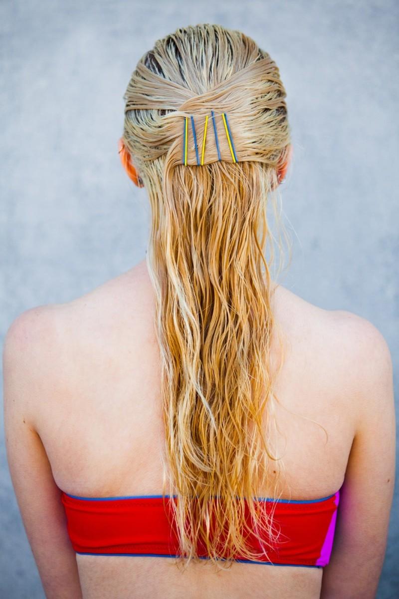 Χτενίσματα με βρεγμένα μαλλιά