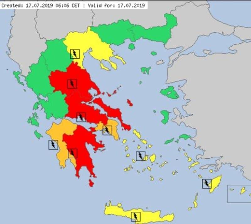 Συναγερμός: Αυτές οι περιοχές θα