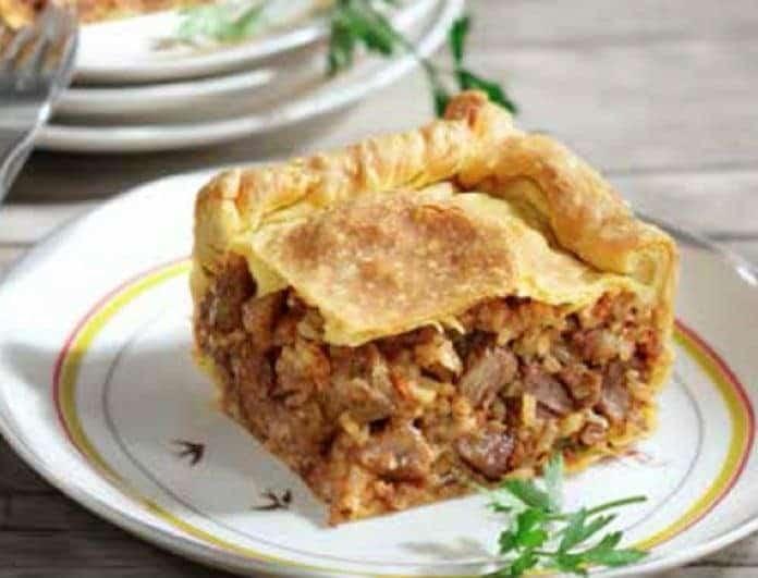 Συνταγή: Παραδοσιακή κρεατόπιτα από την Κεφαλλονιά! Ότι καλύτερο!