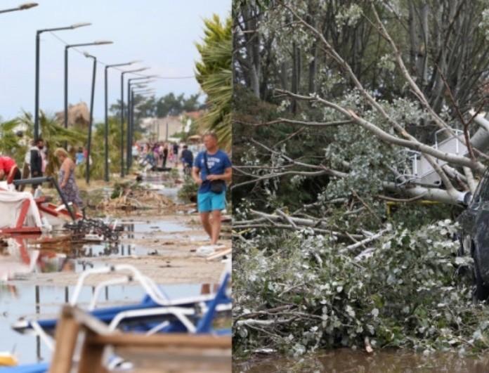 Χαλκιδική: Μαρτυρίες-σοκ! «Εριχνε χαλάζι σαν μπάλες του γκολφ από την κόλαση»