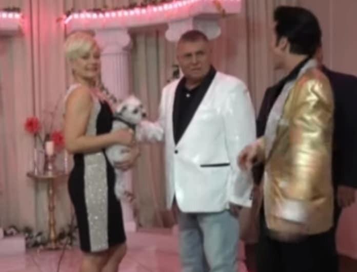Γιώργος Τράγκας: Νέος γάμος στο Λας Βέγκας! Είχε παπά τον... Έλβις Πρίσλεϊ! (Βίντεο)