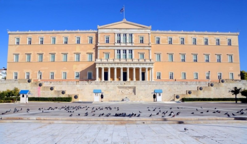 Σεισμός στην ΑΘήνα: Ζημιές στη Βουλή! Πανικόβλητοι οι υπάλληλοι έτρεχαν να σωθούν!