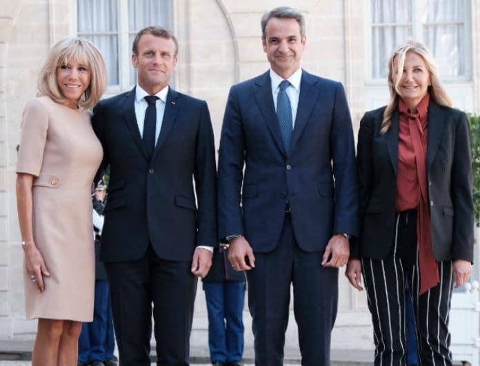 Μαρέβα Μητσοτάκη: Το look της στην Γαλλία μαγνήτισε τα βλέμματα! «Έσκασε» η γυναίκα του Μακρόν!