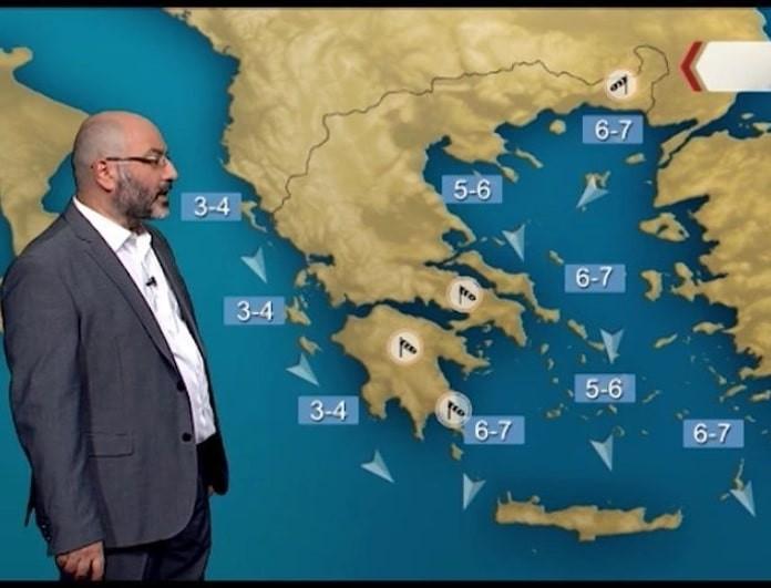 Σάκης Αρναούτογλου: Η προειδοποίηση του μετεωρολόγου για τον καιρό! (Βίντεο)