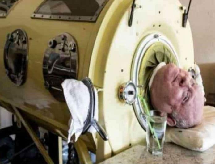 Τα τελευταία 65 χρόνια ζει «φυλακισμένος» σε αυτό το μηχάνημα - «Μόνο έτσι επιβιώνω...»