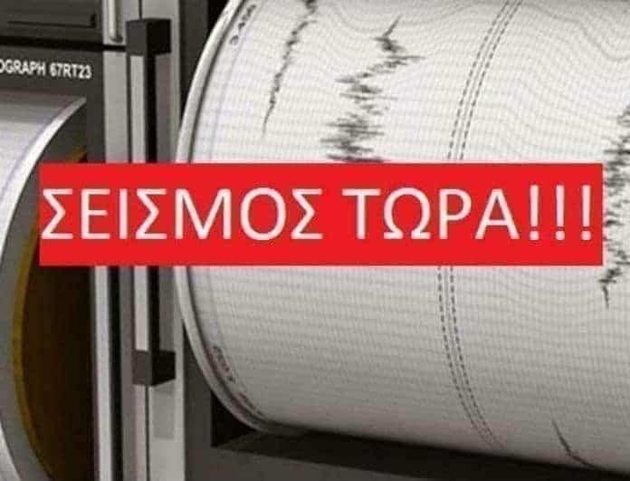 Σεισμός τώρα 5,8 Ρίχτερ! Που «χτύπησε» ο Εγκέλαδος;