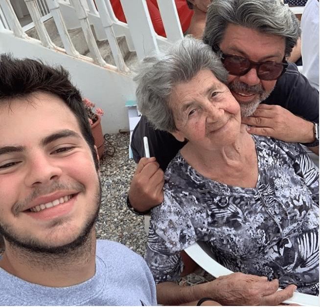 Άγγελος Λάτσιος διακοπές με τον πατέρα του Γιάννη Λάτσιο