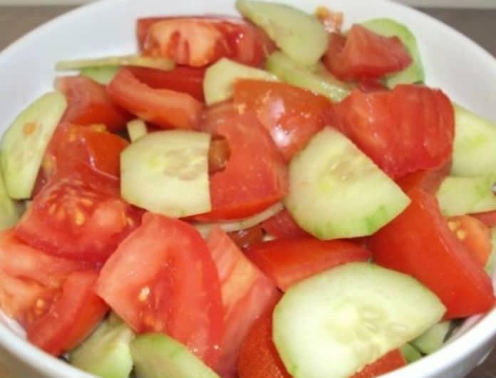 Έρευνα σοκ! Μην ξαναφάτε αγγούρι με ντομάτα - Υπάρχει κίνδυνος να...
