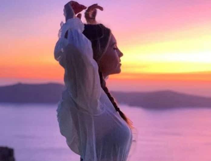 Αθηνά Οικονομάκου: Φόρεσε το μαγιό της